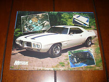 1969 PONTIAC TRANS AM    - ORIGINAL 1989 ARTICLE