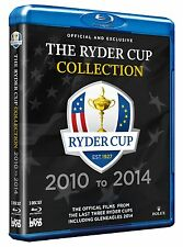 Ryder Cup Official Ultimate Collection 2010 + 2012 + 2014 3 [Blu-ray] NEU Golf
