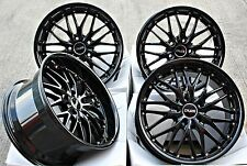 "18"" CRUIZE 190 GLOSS BLACK ALLOY WHEELS COMMERCIALLY WEIGHT RATED 18 INCH ALLOYS"