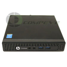 HP ProDesk 400 G1 Mini PC SFF i7-4785T 2.20GHz 4Gb RAM 500Gb HDD K6Q44UT#ABA