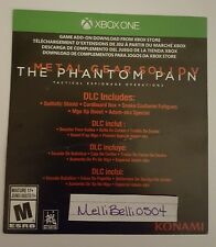 Metal Gear Solid V The Phantom Pain DLC Xbox One (NOT FULL GAME)