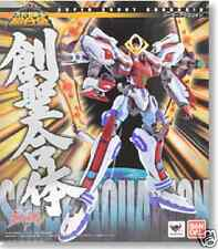 Used Bandai Super Robot Chogokin Genesis of Aquarion Gold Solar Pre-Painted