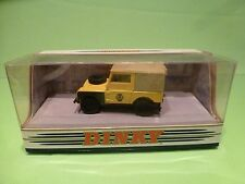 DINKY TOYS DY9-B LAND ROVER 1949 - AA SERVICE - YELLOW 1:43 - GOOD IN BOX