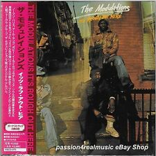 The Modulations IT'S ROUGH OUT HERE Japan MLPS CD 2004 VSCD-273 OOP RARE MINT