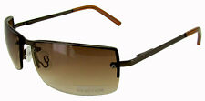 Kenneth Cole Reaction KC1038 Brown Rimless Sunglasses