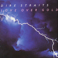 DIRE STRAITS - LOVE OVER GOLD; CD Warner, 1982  VERY GOOD      FAST SHIP