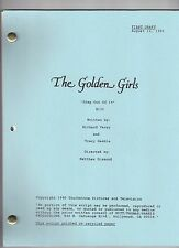 "THE GOLDEN GIRLS script ""Snap Out Of It"""