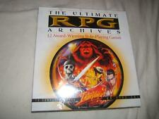 ULTIMATE RPG ARCHIVES - SEALED - VERY RARE - WORLWIDE FREE SHIPPING