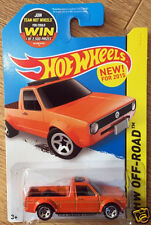 Hot wheels vw volkswagen golf rabbit pick up caddy camion