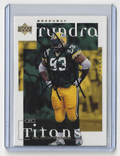 PACKERS Gilbert Brown signed 1998 UD Tundra Titans card AUTO Autographed GB rare