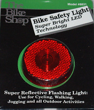 Bike Safety Light / Bicycle Safety Light Super Bright LED Flashing Light NEW!
