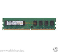 Elpida 2GB PC2-6400U DDR2 800MHz 240pin PC6400 DIMM Desktop Memory RAM NON-ECC