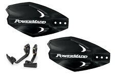 Powermadd Power X Series Handguards Guards Mount Kit BLACK All Sport ATV's