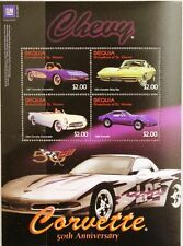 ST VINCENT GRENADINES BEQUIA 2003 Klb 364-67 Chevrolet Corvette Autos Cars MNH