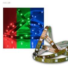 (7,72€/m) 5m RGB LED Stripe 24V Superbright, 150 SMD LEDs, Streifen Lichtleiste