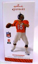 2014 Hallmark Football Ornament - Peyton Manning - Denver Broncos - NFL - NEW