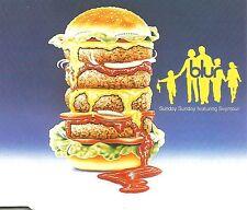 BLUR Sunday  Sunday 3 UNRELEASED TRX UK CD Single SEALED USA Seler Gorillaz 1993