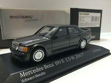 Minichamps 1/43 Mercedes 190 Evo I 2.5 16V (W201) 1990  Grey Met. 437032000