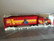 Vintage 1983 ERTL THE A-TEAM 1/25 Scale Peterbilt Tractor Trailer Mr.T -RARE-