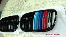 M COLOR  FRONT KIDNEY DOUBLE RIMS GRILLE BMW X5/E70 X6/E71 X SERIES 2007-2013
