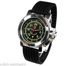 Russische 24-Std.-Uhr Automatik KRIEGSMARINE von TRIUMPH RAKETA -Werk 300m ø47mm