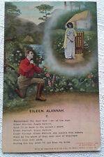 Eileen Alannah 2 Postcard Bamforth Song Card 4508/2 VTG