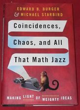 COINCIDENCES, CHAOS AND ALL THAT MATH JAZZ ~ Edward Burger et al. ~HARDCOVER D/J