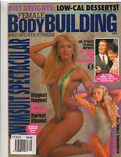 FEMALE BODYBUILDING AND SPORTS FITNESS #47 magazine/Debbie Kruck 9-95
