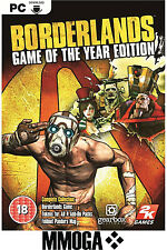 Borderlands 2 II - Game of the Year Edition Key - Steam Download Code PC [UK/EU]