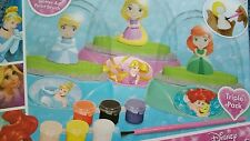 New Elegant Disney Princess Maker Glitter Domes Making Craft Kit Fun Girls Toy