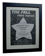 THE FALL+Free Range+POSTER+AD+RARE ORIGINAL 1992+QUALITY FRAMED+FAST GLOBAL SHIP