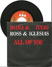 Ross & Iglesias All of you, G/VG, 7'' Single, 3967