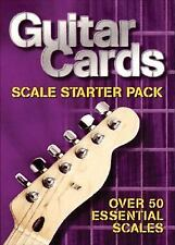 Guitar Cards: Scale Starter Pack, Hal Leonard Corp., Good Book