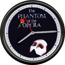 Phantom Of The Opera Broadway Theater Show Poster Art Sign Actor Wall Clock