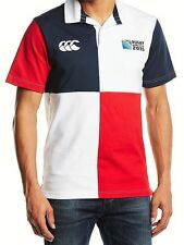 Official Canterbury Men's Harlequin Rugby World Cup 2015 S/S Rugby Jersey S BNWT