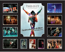 New Michael Jackson This Is It Limited Edition Memorabilia Framed