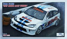 HASEGAWA 1/24 Ford Focus WRC 2007 Monza rally winner V.Rossi scale model kit