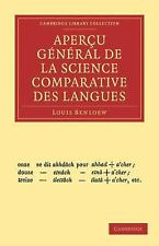 Apercu general de la science comparative des langues
