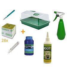 Kit de propagación para esquejes con propagador, hormona y lana de roca (SV1)