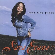 """SARA EVANS, CD """"REAL FINE PLACE"""" NEW SEALED"""