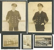 S.S. EMRESS OF BRITAN - COLLECTION OF NAVAL PHOTOS OFFICERS   SCENES FROM BALBOA