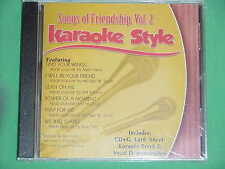 Songs of Friendship~#2  Daywind Karaoke Style ~ I Will be Your Friend ~ CD+G