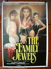 The Family Jewels (FLORENCE GUERIN) Lebanese Movie Poster 60s
