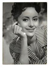 Lied AK Catarina Valente Tönende Ansichtskarte Habanero Schallbildkarte um 1958