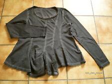 Rundholz black Label,Tunika/Shirt/Zwischenteil,Gr.XL,olivgrau,neu,Lagenl.Traumt.