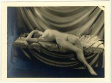 Photo Bertram Park et Yvonne Gregory Nue Vers 1930