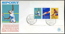 Netherlands Antilles 1981 Sports Fund FDC First Day Cover #C26716