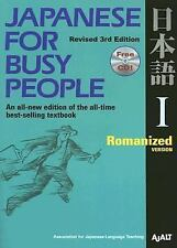 Japanese for Busy People I: Romanized Version includes CD (Japanese for Busy P..