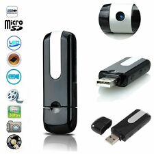 USB Disk SPY Camera Camcorder Mini Hidden DV DVR Motion Activated Detection ERER