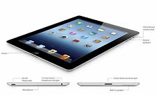 Apple iPad 2 16GB, Wi-Fi + 3G Unlocked - BLACK  Excellent Condition 3 Month WRT